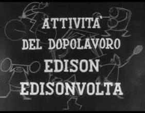 Attività del dopolavoro Edison Edisonvolta