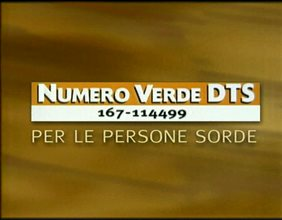 Numero verde  DTS 167 114499 - long