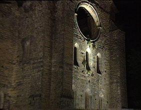 Luce per l'arte - Lumina Chiese di Toscana. Abbazia San Galgano