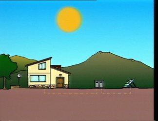 Dal sole energia elettrica senza fili (Wireless Electric Energy from the sun)