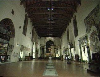 Luce per l'arte - Basilica San Francesco in Arezzo