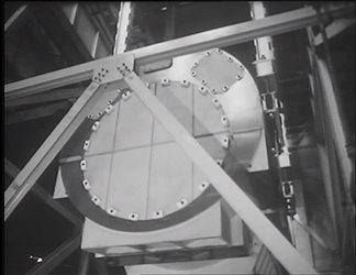 Compartimento di Venezia - Operazione di sollevamento alternatore 180 MVA
