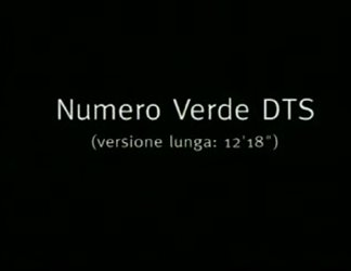 Numero verde DTS per le persone sorde