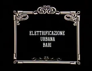 Elettrificazione urbana Bari
