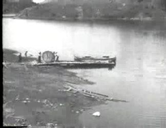 Lo sbocco a Pentecane sul Lago Ampollino