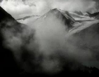 La diga del ghiacciaio