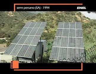Fotovoltaico - Vulcano/serre Persano 1994