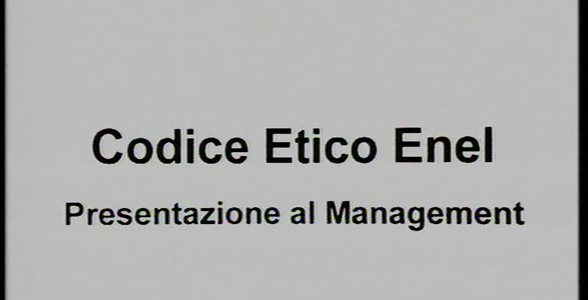 Codice Etico Enel - parte 1