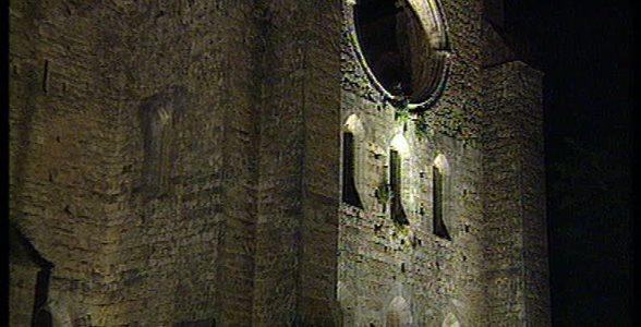 Luce per l'arte - Lumina. Chiese Toscana. San Galgano  con concerto musica regionale