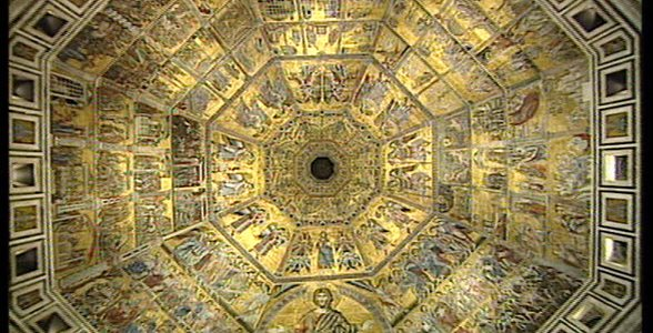 Luce per l'arte - Lumina Chiese di Toscana. Firenze Battistero di San Giovanni.