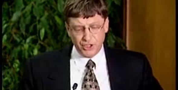 Conferenza stampa Bill Gates