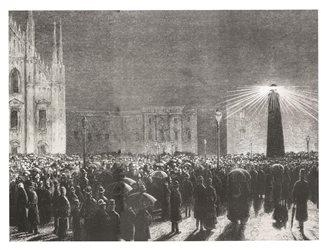 Tutta Milano si riversa in piazza Duomo